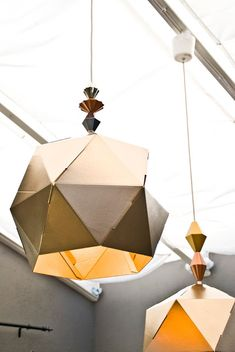 Hello Lovelies, I needed to swap out my old living room lights. I had these lampion chandeliers for ages now and they don`t look pretty. Ikea Pendant Light, Pendant Lights, Paper Lampshade, Lampshades, Origami, Paper Light, Living Room Lighting, Home Projects, Room Lights