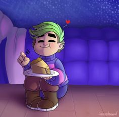 Jacksepticeye! I love when he played undertale! I loved floweys voice he did!