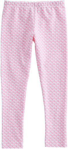 Vineyard Vines Girls Allover Whale Print Knit Leggings