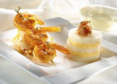 Grilled Shrimp with Andean Potatoes