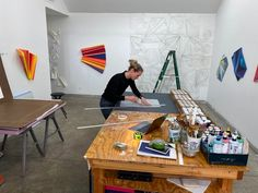 Rachel Hellmann (@rachelhellmann) • Instagram photos and videos Artist At Work, Desk, Photo And Video, Videos, Photos, Furniture, Instagram, Home Decor, Desktop