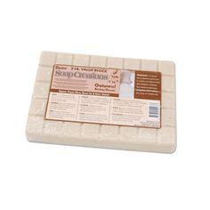 Oatmeal Soap Base - Scored 2 Pound Block