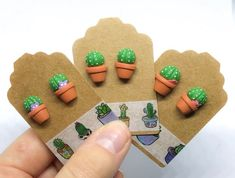 Cute Polymer Clay, Cute Clay, Polymer Clay Miniatures, Polymer Clay Charms, Polymer Clay Projects, Clay Crafts, Polymer Clay Jewelry, Diy Clay Earrings, Handmade Gift Tags