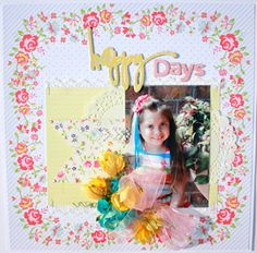 My Creative Scrapbook Limited Edition Kit created by Angel Rodrigue.