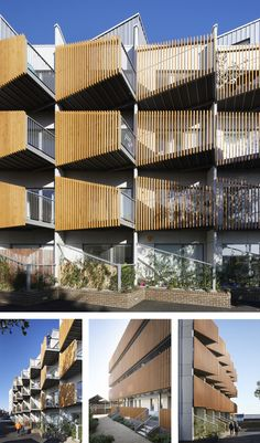 New photos of the recently completed Paxton House — alma-nac Hotel Architecture, Modern Architecture House, Concept Architecture, Architecture Design, Small Buildings, Modern Buildings, Building Facade, Building Design, Facade Design