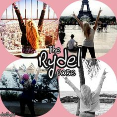 The Rydel Pose...OMG...I always pose exactly like this