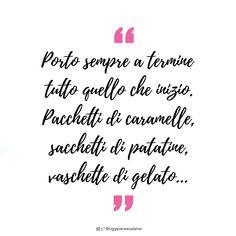 """""""Porto sempre a termine tutto quello che inizio. Pacchetti di caramelle, sacchetti di patatine, vaschette di gelato..."""" - OPSD BLOG - #frasedelgiorno #frasiitaliane #aforismi #citazioni #frasi #parole #verità #instaquote #quotes #instafrasi #inspirationalquotes #moodoftheday #quotesoftheday #happy #life #instaquote #opsdblog #instagood #inspire #divertenti #instaquoteopsdblog #buongiorno #coffee #caffè #goodmorning #Lunedì #Monday"""