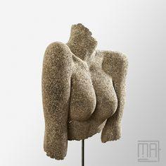Noa - Sculpture en dentelle de carton - Cardboard sculpture
