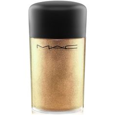 Mac Pigment (180 NOK) ❤ liked on Polyvore featuring beauty products, makeup, beauty, cosmetics, make, filler, old gold, mac cosmetics makeup and mac cosmetics