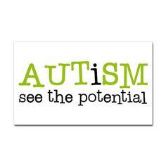 """""""Autismo, ver el potencial"""" - We love this!"""