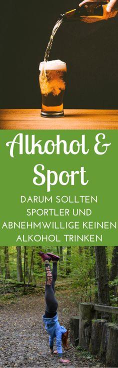 Alkohol und Sport - Nein, ich trinke wirklich keinen Alkohol. Weißt du, warum Alkohol und Sport nicht zusammenpassen und weshalb Alkohol fett macht? Ich erzähle dir heute meine Geschichte!