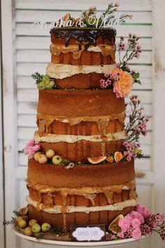 Cake bar in natural style : Cake Bars, Frosting, Gingerbread, Baking, Desserts, Naked, Food, Natural, Wedding