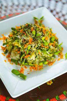 Sapte salate raw si doua dressing-uri   Ligia Pop