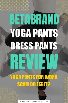 Are these Betabrand yoga pants dress pants for work really a scam? Before you spend a dime on this company, read this review FIRST. All about Betabrand review, dress pants, workwear, office style, street style #dresspants #workwomensfashion Yoga Pants For Work, Yoga Pants Outfit, Dress Pants, Yoga Dress, Black Fashion Bloggers, Black Women Fashion, Summer Pants Outfits, Outfit Summer, Casual Summer