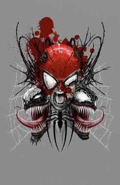 Spiderman - Venom - Antivenom - by Aburtov - Instant Downloadable File