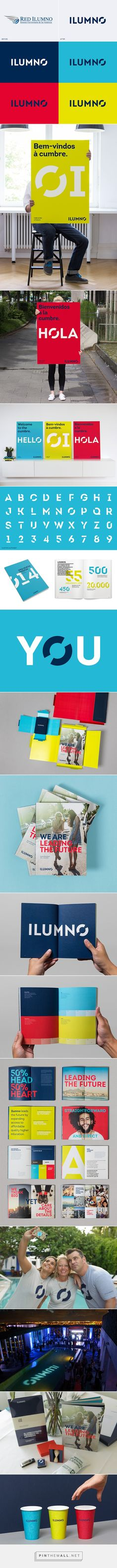 Ilumno Rebrand on Behance -- - - - -- - - - - -... - a grouped images picture - Pin Them All