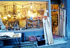 Antwerp antique shopping Kloosterstraat