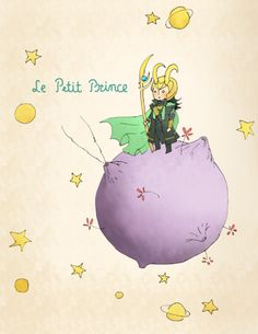 The Little Prince. Two of my favorite things combined into awesome.