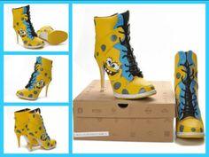 Spongebob High Heels Now? - NoWayGirl