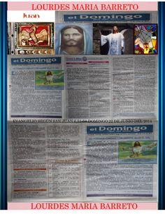 REMESA DOMINGO  22 DE JUNIO DEL 2014. SOLEMNIDAD DEL SANTÍSIMO CUERPO Y SANGRE DE CRISTO.  DOMINGO DÍA DEL SEÑOR. CONFESIÓN Y EUCARISTÍA RECIBIDOS.  +LOURDES MARÍA BARRETO+