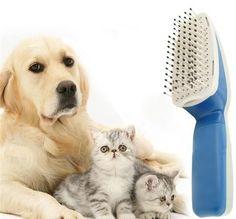Kedi Köpek Bakım Tarağı Ionic   Kötü kokuları ortadan kaldırır. İyonik bir temizlik fırçasıdır. Her türlü hayvan tüyü için uygundur. 1 adet 9 Volt'luk pil ile çalışmaktadır. Kısa zamanda sonuç verir. Keçeleşmiş hayvan tüyleri için özel dizayn edilmiştir. Keçeleşmiş tüyleri bile kısa zamanda temizleyip, arındırmaktadır. #PetShop #Pet #EvcilHayvan #Köpek #Kedi #Kuş #Dog #Bird #Papağan #Cat #Mama #Oyuncak #Toys #Balık #Fish #Satacak