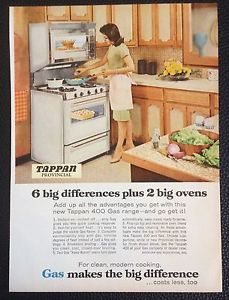 vintage oven ad | Vintage-1967-Tappan-400-Gas-Range-Oven-Magazine-Ad-Print-clean-modern ...