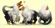 raptors ii by mr jack The Good Dinosaur, Dinosaur Art, Feathered Dinosaurs, Extinct Animals, Prehistoric Creatures, Character Design Animation, Le Far West, Magical Creatures, Raptors