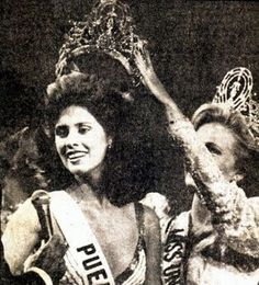 thecrowncompetitors: miss universe 1985