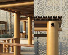 shigeru ban abu dhabi art pavilion designboom