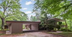 James Taylor's 1950s midcentury home in Chapel Hill, North Carolina