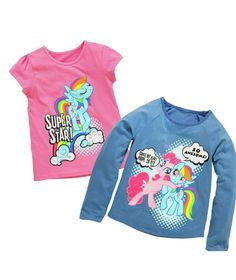 afbaffb008e0 Buy My Little Pony 2 Pack of T-Shirts - 3-4 Years at Argos.co.uk - Your  Online Shop for Girls' clothes.
