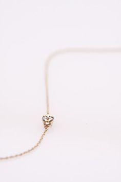 Tiny Skully Necklace by Iwona Ludyga Design