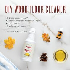 Dare we say that cleaning your house may turn out to be one of your favorite autumn activities? It fills the whole house with warm smells! Make sure to use a damp (not wet) cloth
