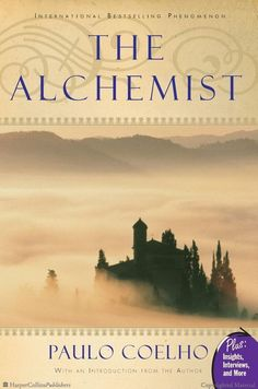"One of my favorite quotes from this book: ""When you really want something, the whole universe conspires in helping you to achieve it."" The Alchemist by Paulo Coelho"