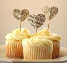 cake toppers: Uses For Old Books | POPSUGAR Smart Living