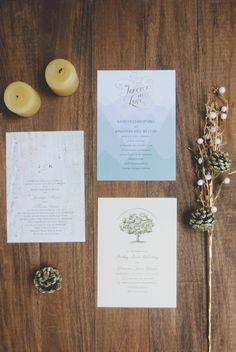 Wending Invitations: Rustic Invitations