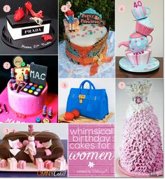 Wacky and Whimsical Birthday Cake Ideas for Women!