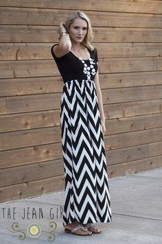 Chevron Dress! Buy Here: http://thejeangirlshop.com