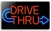 Everbrite Drive Thru Neon Sign