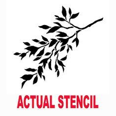 Cutting Edge Stencils - Hanging Tree Branch A Stencil