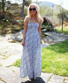 Blue Maxi Floral Sheer Button Up Dress by Cath In The City Loveeee thisss Maxi Outfits, Cute Outfits, Unique Fashion, Fashion Looks, Floral Fashion, Fashion Photo, Street Snap Fashion, Cozy Winter Outfits, Summer Outfits