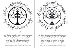 not all those who wander are lost tattoo elvish - Поиск в Google