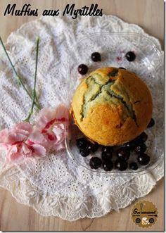 Goulucieusement: Muffins moelleux aux Myrtilles.