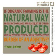 Organic food I love