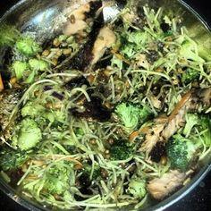 my salmon broccli salad