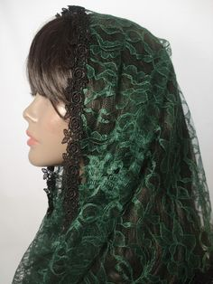 Catholic Chapel Veils Lace Mantillas by RosaMysticaBoutique : what's up Ordinary Time veil?!?!?