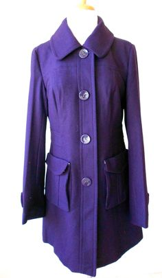 Purple Pea Coat! $89.99