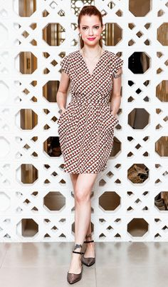 Julia Petit - Vestido estampado