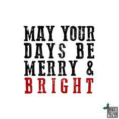 Christmas by Bones.