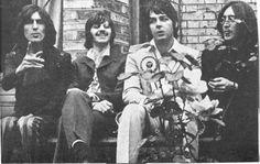 George Harrison, Richard Starkey, Paul McCartney, and John Lennon (Mad Day Out 79 Swain's Lane)